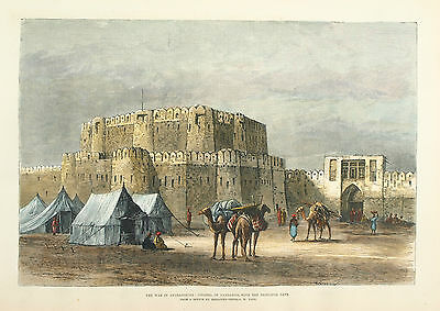 Afghanistan - Citadel Of Candahar, Produced For The Iln, 1880.