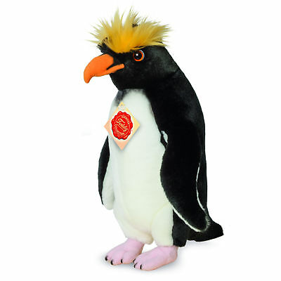 Teddy Hermann 900399 Goldschopfpinguin 32 cm