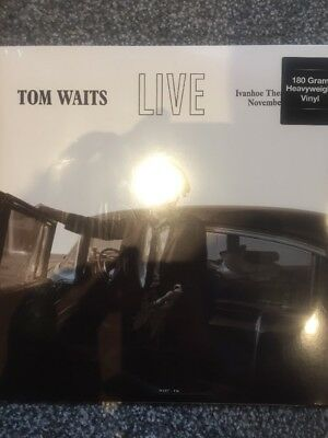 Tom Waits - Virginia Avenue Live At The Ivanhoe Theatre - New Sealed Lp Vinyl