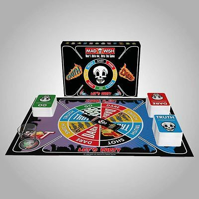 Madwish Pro Funny Adult Board Games Party Drinking Truth or Dare