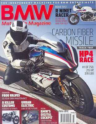 BMW Motorcycle  No.36 Fall 2017 (NEW COPY)*Post included to UK/Europe/USA