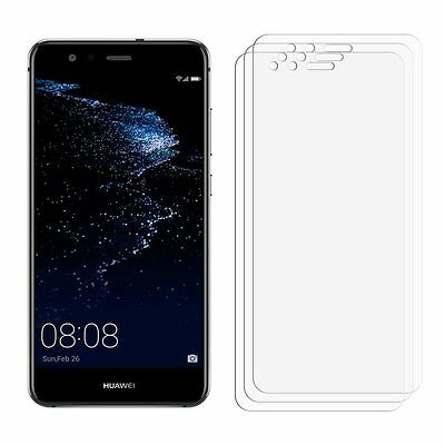 2 x Clear LCD Screen Protector Film Foil Saver For Mobile Phone Huawei P10 Lite