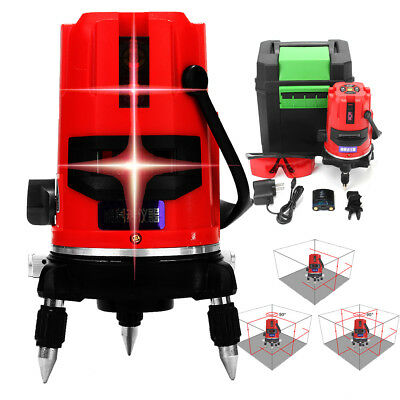 Automatic Self-Leveling 5 Line 6 Point 20 Time Rotary Laser Level Measure Tripod