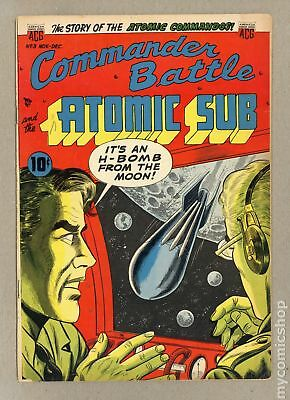 Commander Battle and the Atomic Sub (1954) #3 VG+ 4.5