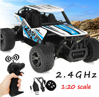2.4G High Speed RC Rock Crawler Car Truck Off-Road Vehicle Buggy Toys Xmas Gift
