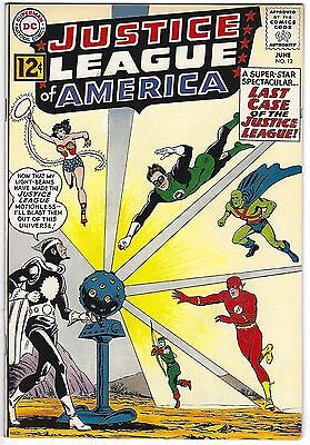 Justice League Of America #12, 1962, Vf/vf+ Condition, 1St Doctor Light