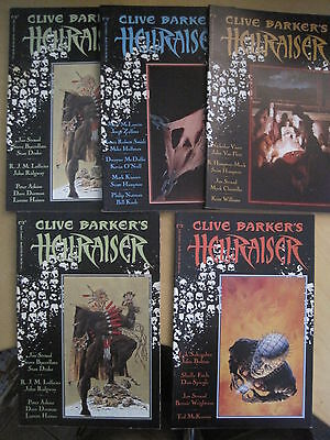 CLIVE BARKER 's HELLRAISER issues 1, 2, 3 & 4. ( 4 in TOTAL ). MARVEL /EPIC 1989