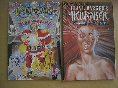 CLIVE BARKER 's HELLRAISER : SUMMER & DARK HOLIDAY SPECIALS . MARVEL /EPIC 1992