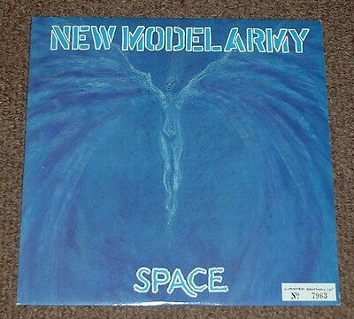 """NEW MODEL ARMY space 1991 UK EMI NUMBERED 10"""" SINGLE"""
