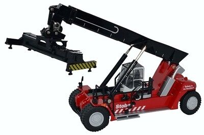 Oxford Die-cast Konecranes Reach Stacker Stobart Red OO Gauge 1:76  76KRS005
