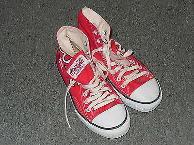 Vintage Pair Of Coca Cola Sneakers   Size 5   Never Worn