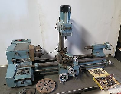 Emco Maximat V10-P Lathe Mill Vertical Milling Drilling Attachment Maximat 7
