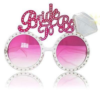 Hen Party Bride To Be Glasses Bling Night Novelty Bride To Be Hen Do Accessories