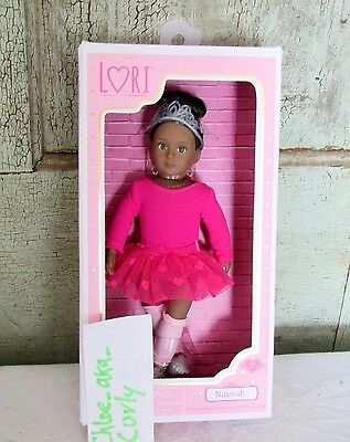 """LORI Our Generation Doll NAVEAH black Hair Gray Eyes w Dance BALLET outfit 6"""""""
