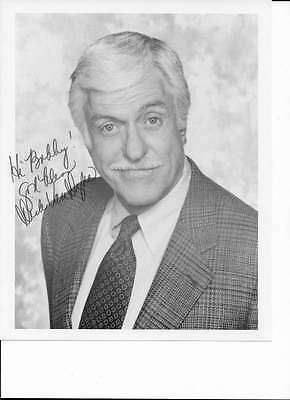Dick Van Dyke Signed Autograph 8X10 B&W Photo Classic Hollywood Actor