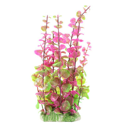 Aquarium Fish Tank Plastic Emulational Grass Plant Decoration Ornament