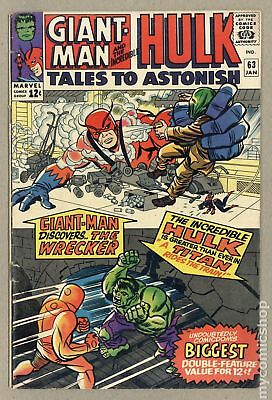 Tales to Astonish (1959-1968 1st Series) #63 VG+ 4.5