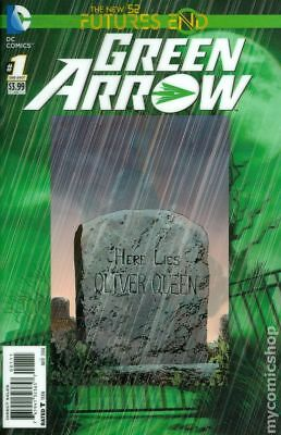 Green Arrow Future's End (2014) #1A NM