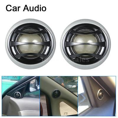 "2x 2""150W Micro Dome Car Audio Tweeters Speakers with Built-in crossover S5R7"