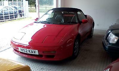 1991 Lotus Elan TURBO SE ** 73K ** 10 SERVICE STAMPS **