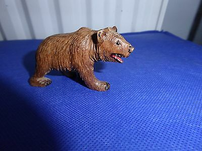 Vintage Black Forest Hand Carved Wooden Bear.