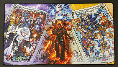 Force of Will Playmat - Echoes of the New World Play Mat - TCG Playmat - New