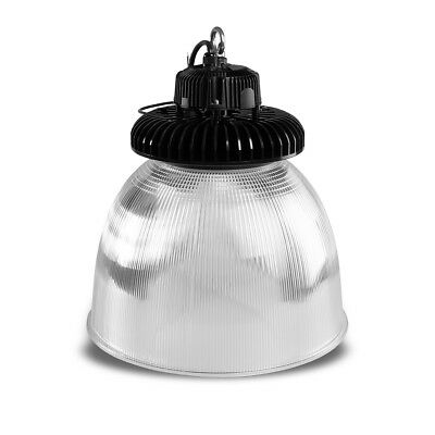 LED Hangar Spotlight SN 100W 6500K coldwhite IP65 D70 pc-schirm