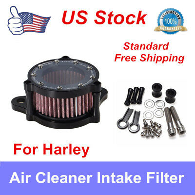 Motorcycle Skull CNC Air Cleaner Intake Filter For Harley Sportster XL 883 1200