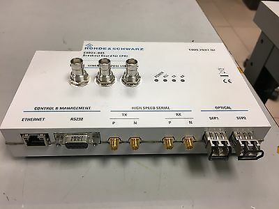 ROHDE & SCHWARZ EXBOX-B85 Breakout Board for CPRI