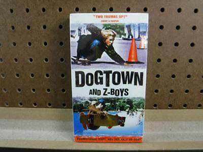 VHS Tape New Sealed Rare Dogtown And Z-Boys Promotional Screener Sony Pictures