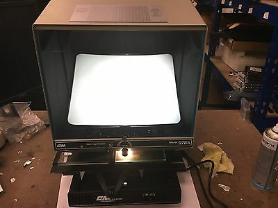 ASR-E053 CM Consolidated Micrographics Model 9785 Machine In Great Condition