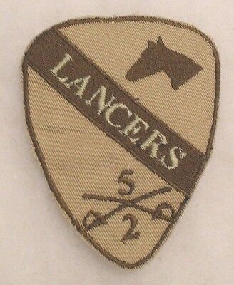 "Obsolete Iraqi Made Original 1St Cav Lancers ""5"" Of Sabers ""2"" Below Desert Camo"