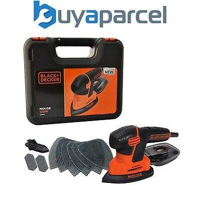 Black and Decker 240v Palm Mouse Sander KA2500K-GB Next Generation KA161-GB