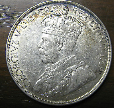 Canadian Silver Dollar, 1936, Beautiful Big Coin!