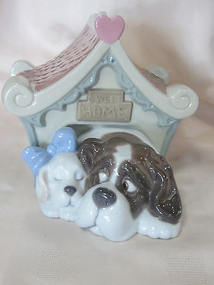 Nao By Lladro Sweet Home #1748 Brand New In Box Dog Large Save$$ Free Shipping