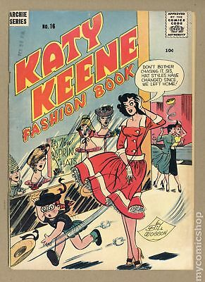 Katy Keene Fashion Book Magazine (1955) #16 GD+ 2.5