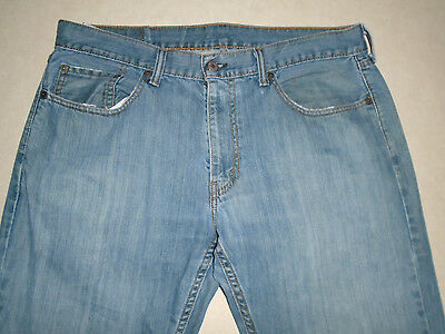 Levi Strauss Co Brand Mens 559 Relaxed Straight Denim Blue Jeans Pants Size 34