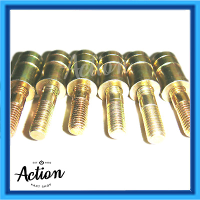 GO KART M8 EXTENDED WHEEL NUTS STUDS or COMBO PACKS OF SIX THREE CHOICES