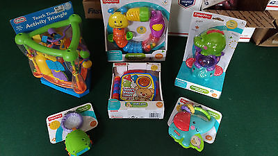 Lot of Baby Toys NIP 6-36 mos Fisher Price Laugh & Learn Teether Musical