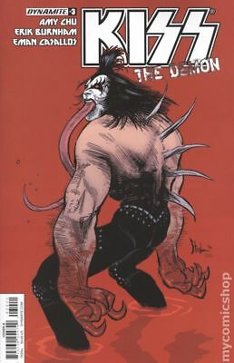 Kiss The Demon (2017 Dynamite) #3A NM