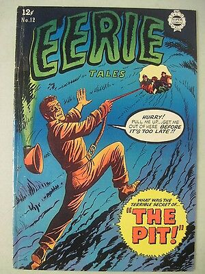 EERIE TALES #12 SUPER COMICS 1964 (Reprints Avon's Eerie 1 from '51)