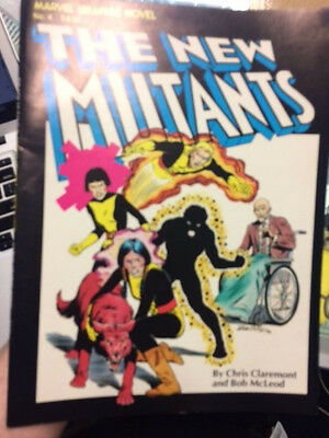 New Mutants 1st Appearance Marvel Graphic Novel #4 X-Men The Gifted First Print!
