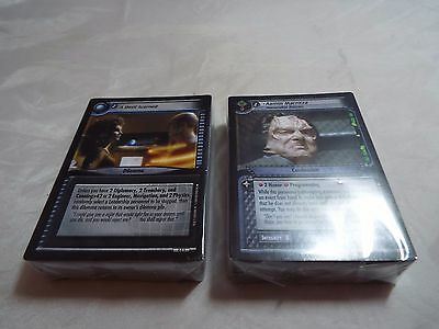Star Trek Ccg 2E Necessary Evil Complete Common And Uncommon Set
