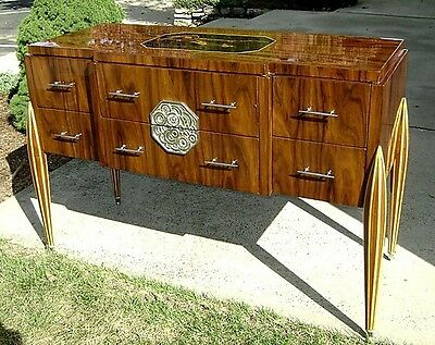 Masterpiece Art Deco Ruhlman inspired Sideboard