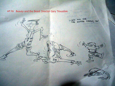 2 Disney directors 1 Imagineer  8 CARTOONS AT MY EXPENSE Gullerud Trousdale Cook