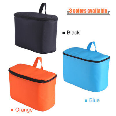 Large Waterproof DSLR Camera Shoulder Bag Insert Padded Partition Dividers DY