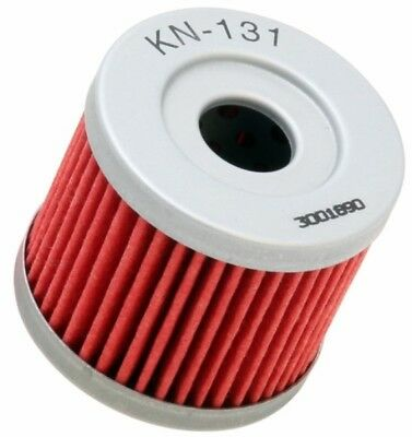 K&N Oil Filter KN-131 Suzuki DR125SM 07-09, GS125 125 - Disc Brake 83-00
