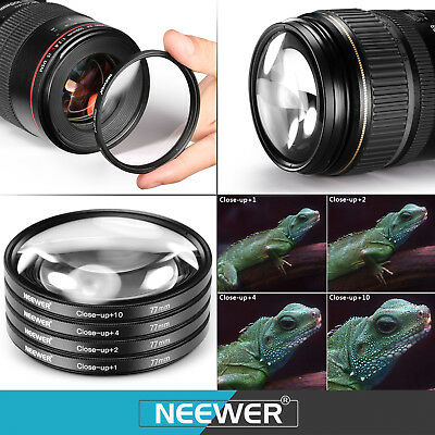 Neewer 77Mm Filtro Kit Accesorio (Uv/Cpl/Fld/Nd2/Nd4/Nd8/Close-Up/Accesorios)