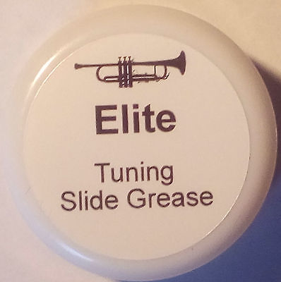 Elite Instrument Tuning Slide Grease, Synthetic Grease With PTFE LARGE 10g POT