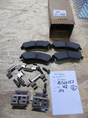 Chevrolet BLAZER S10 TRAILBLAZER Base Bremsbeläge hinten brake pads rear Delco